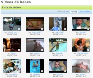 Vídeos de bebes